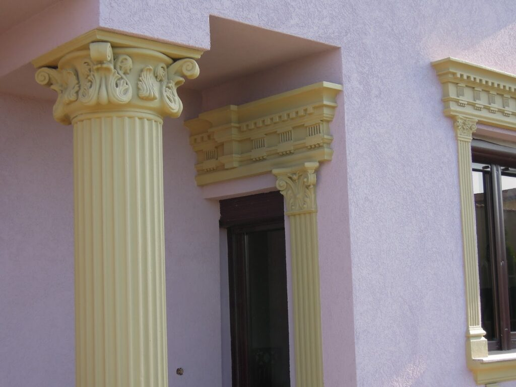 profile decorative, profile polistiren, coloane, coloana, capitel