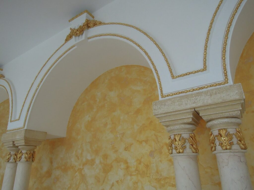 profile decorative, profile polistiren, arcade, coloane