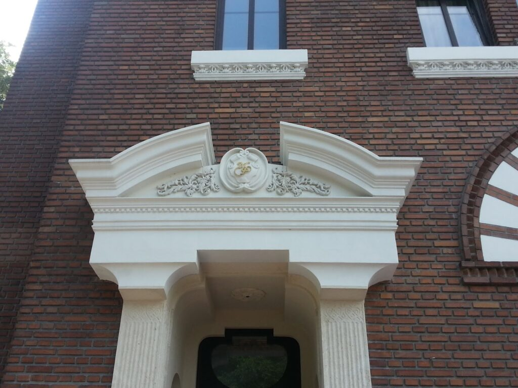profile decorative, profile polistiren, fronton