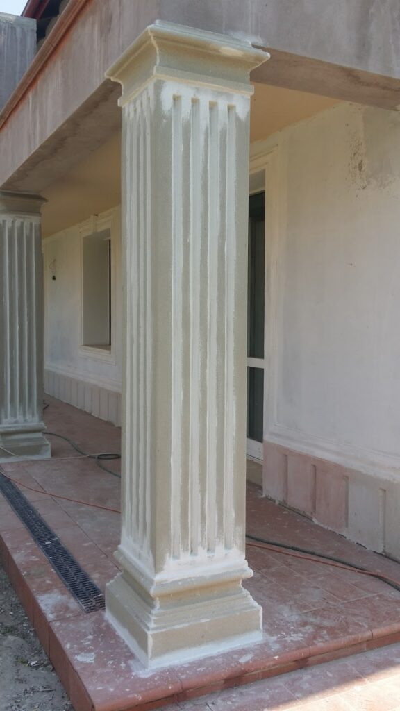 profile decorative, profile polistiren, coloane polistiren