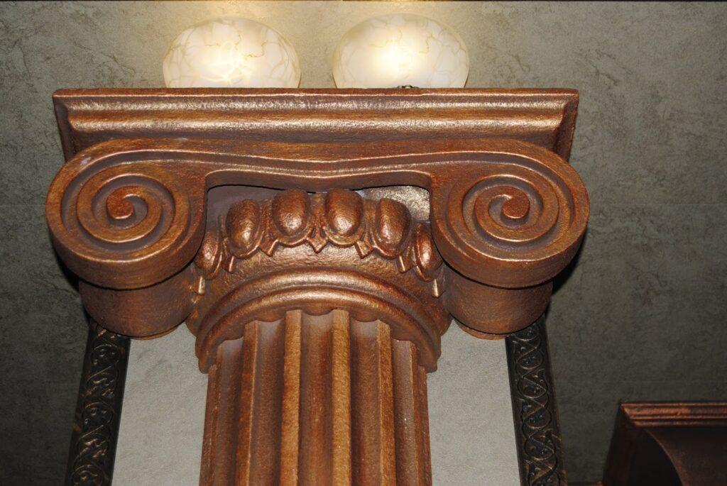 profile decorative, profile polistiren, capitel