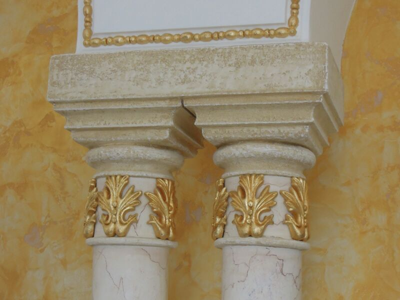 profile decorative, profile polistiren, capitel, coloane
