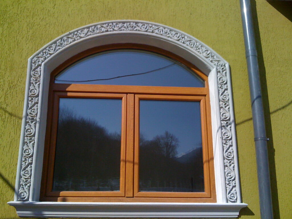 profile decorative, profile polistiren, ancadrament, arcada