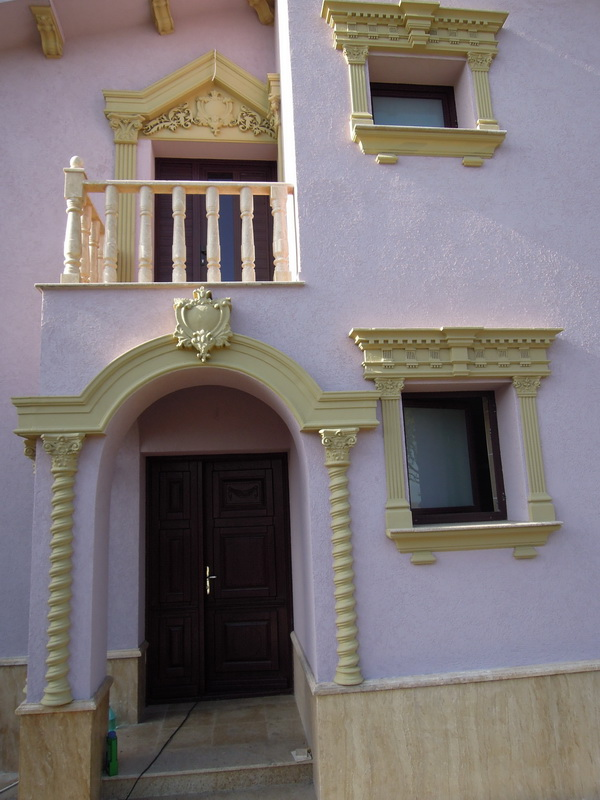 profile decorative, profile polistiren, fatada casa