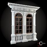 modele de arcade decorative profile exterior case win-052