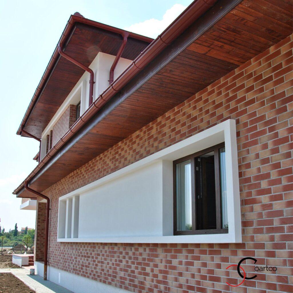 profile decorative, ancadrament polistiren pentru ferestre, montare profile