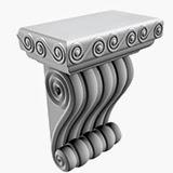 console, elemente decorative din polistiren pentru fatade case