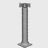 Fatade de Case Moderne cu coloane decorative din polistiren pret