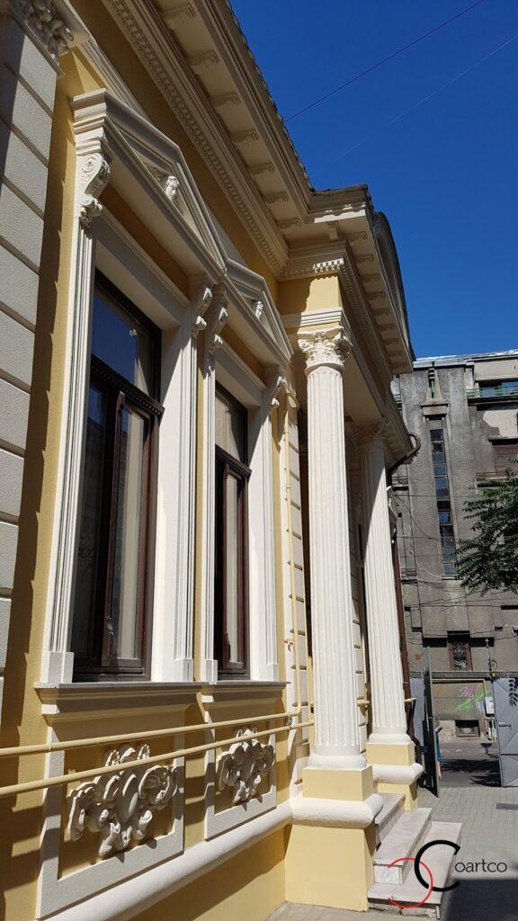 Reabilitare fatade cladiri vechi cu profile decorative CoArtCo