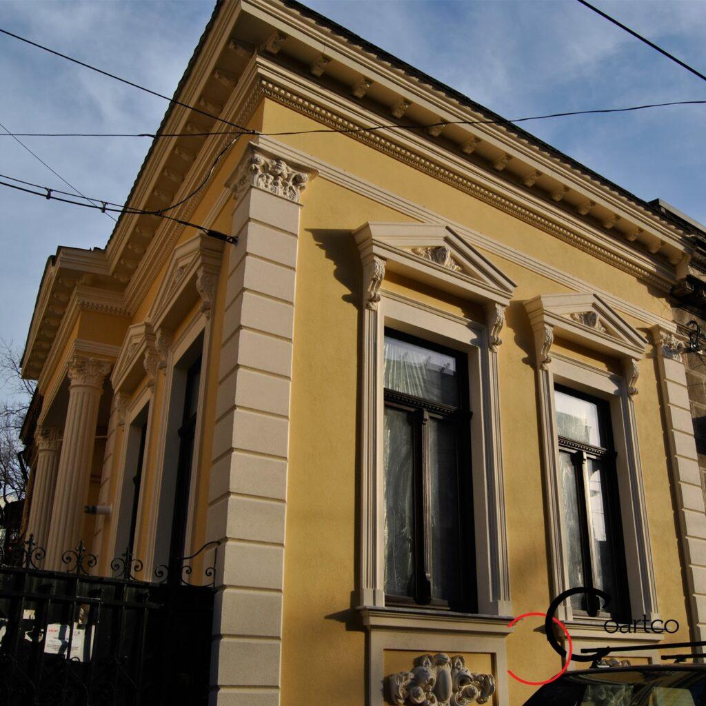Reabilitare Fatade Case Vechi, Fira Constructii, BAghete Polistiren, Profile Decorative