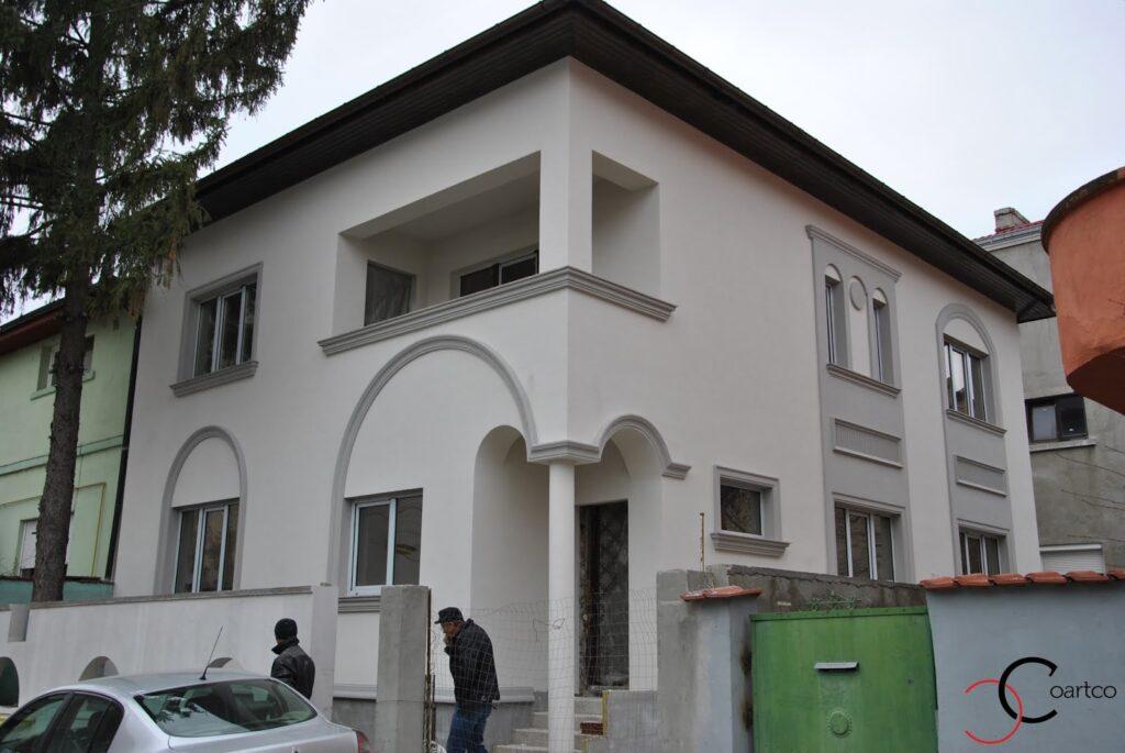 profile polistire, profile decorative, fatada casa