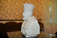 statuie polistiren, Bust Ferdinand I, bust polistiren
