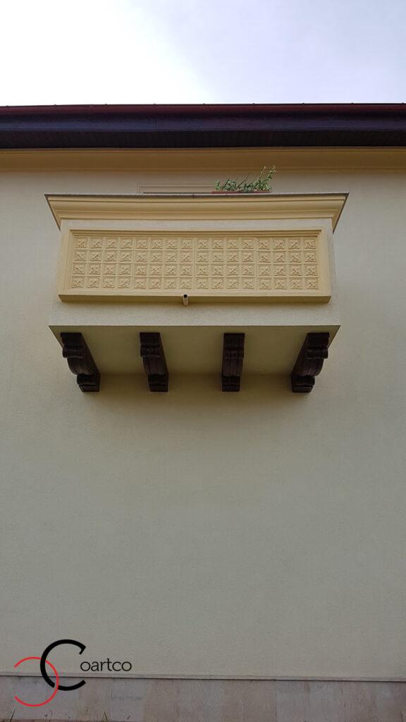 Panou decorativ balcon din polistiren CoArtCo