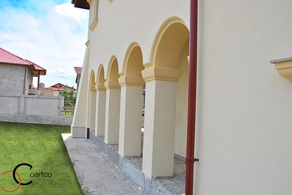 coloane polistiren, arcade polistiren, profile decorative polistiren