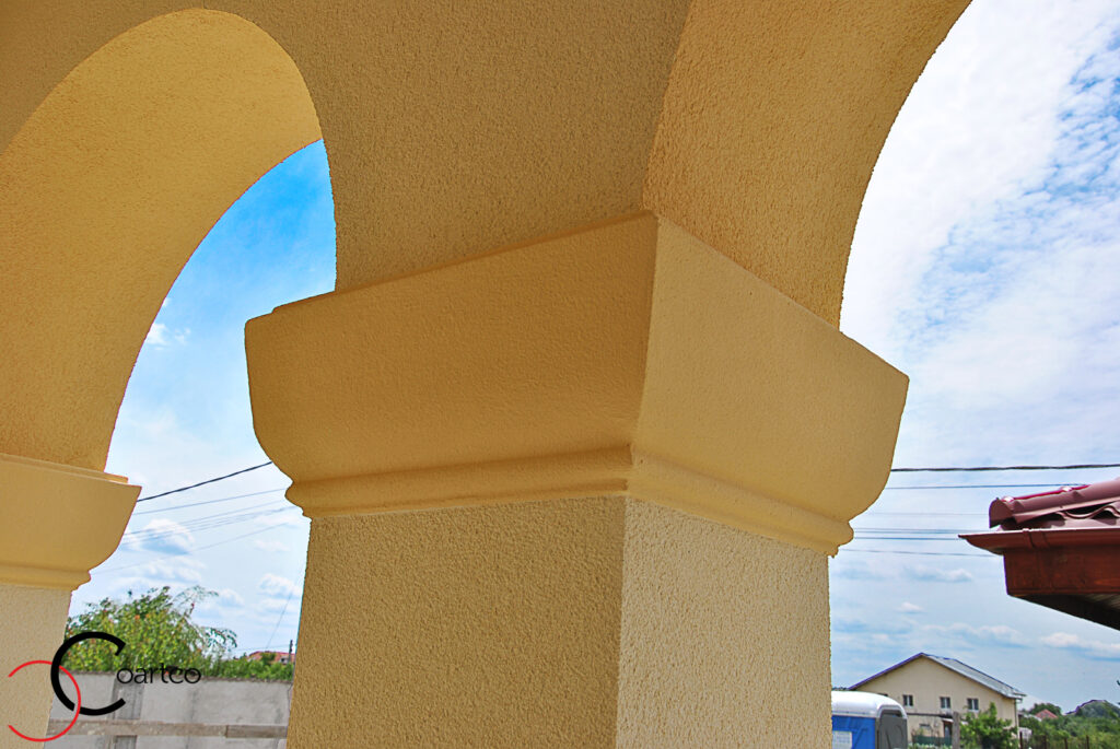 coloane, coloane decorative polistiren, coloane polistiren, coloane cu arcada, coloane, arcade, arcada