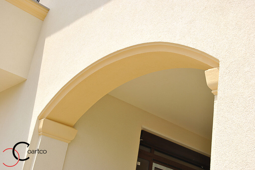 arcada, arcada polistiren, profile decorative polistiren, fatada casa, fatade case