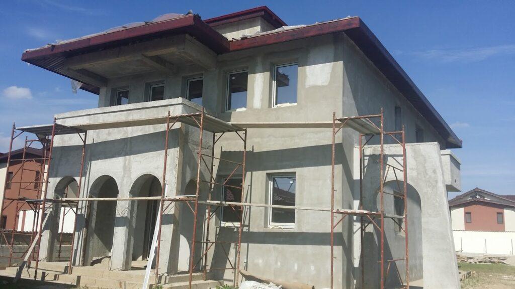 Manopera Fatada Casa, manopera fatade case, constructie fatada casa