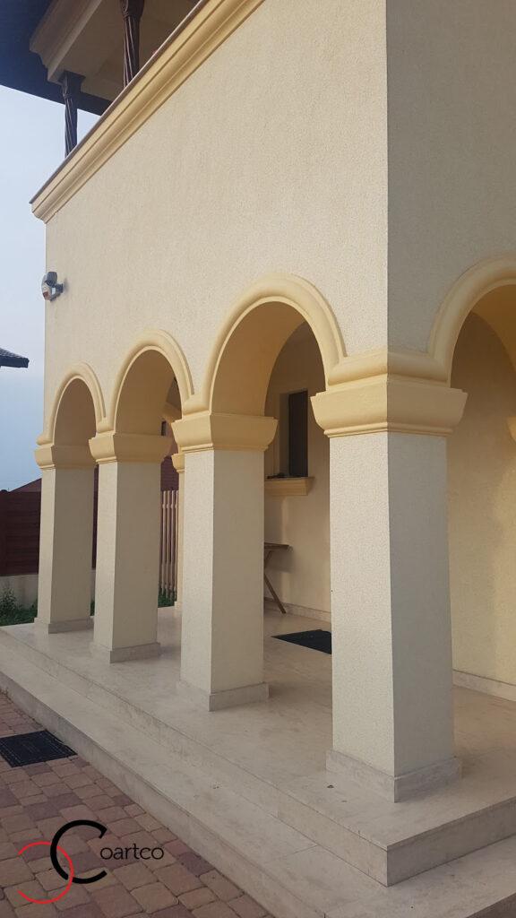 Coloane decorative din polistiren CoArtCo