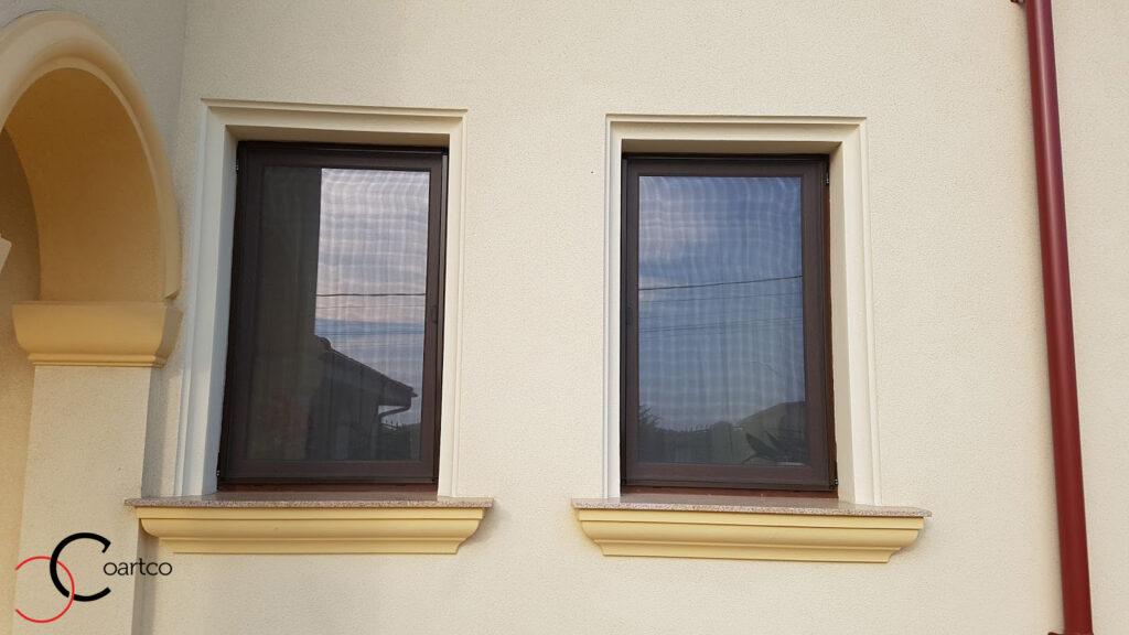 Ancadramente ferestre in adancime cu solbanc din polistiren CoArtCo