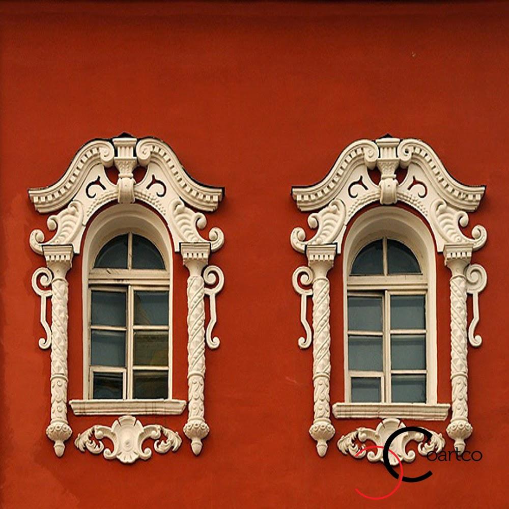 fatade case geamuri exterior cu ornamente din, incarcate, pret profile decorative din