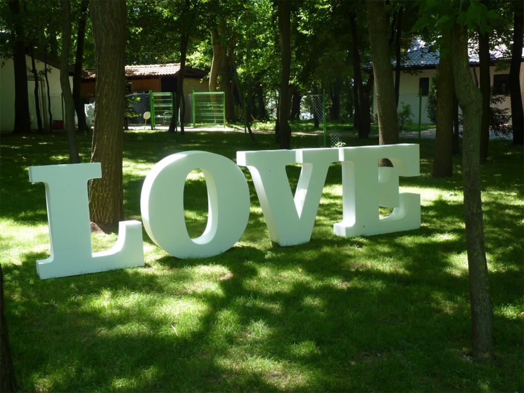 litere volumetrice, litere mari, litere gigant, litere evenimente, litere nunta