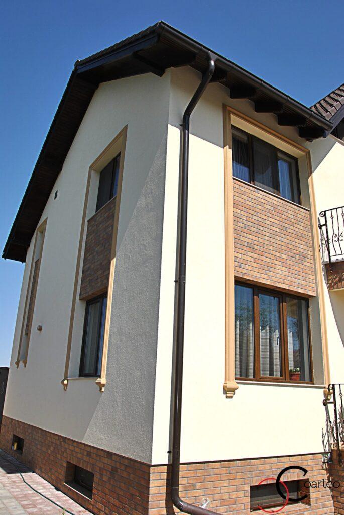 fatade case, fatade case moderne, ancadramente fereastra