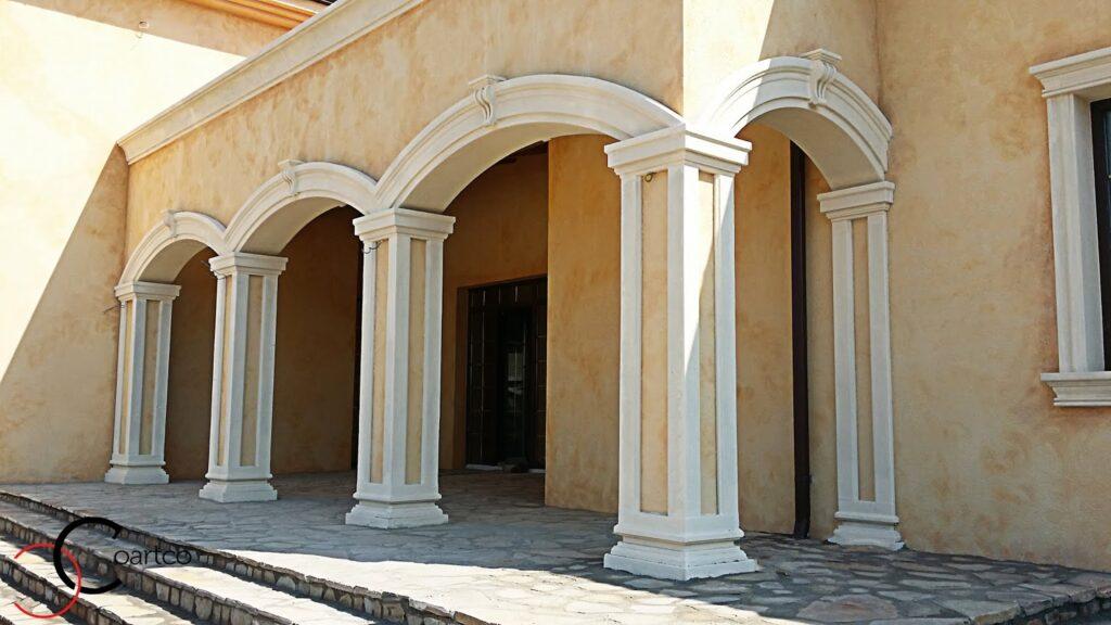 arcade decorative, arcade casa, casa cu arcada, casa cu arcade