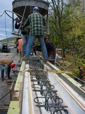 Mulaj Cofraj Turnare Beton Balustrada Pod