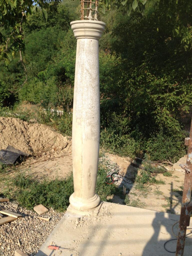 Mulaj Coloana Trunconica, mulaj coloana beton, mulaj coloana de rezistenta, mulaj coloane decorative