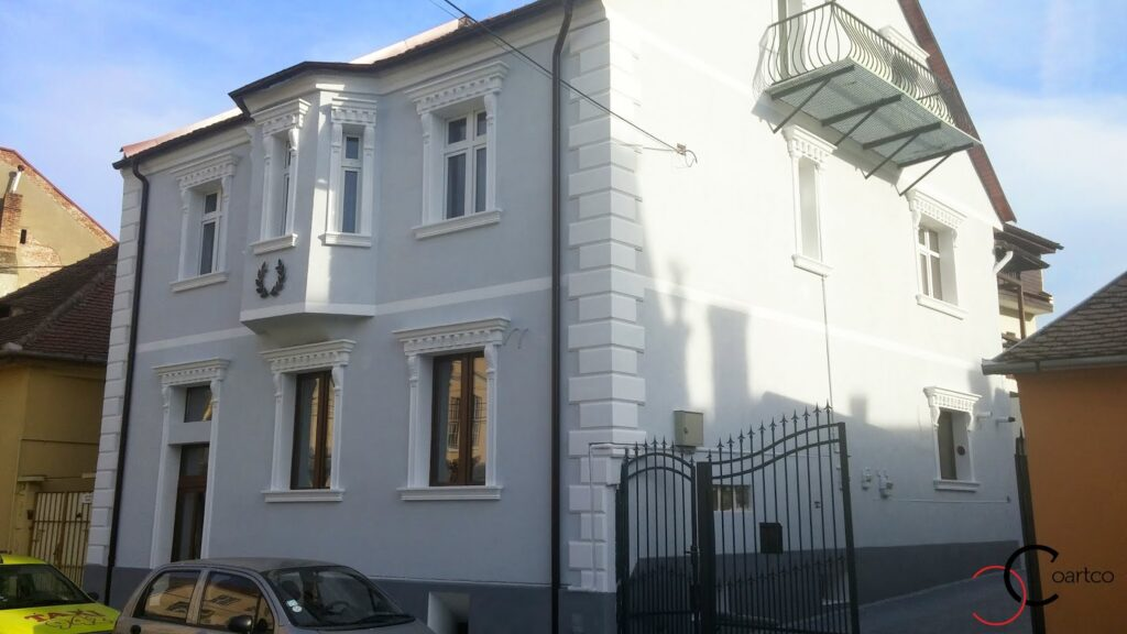 profile polistire, profile decorative polistiren, fatada casa, fatade case