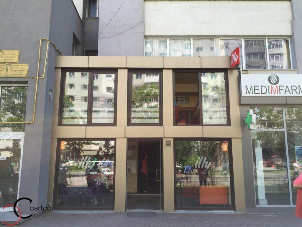 Proiect Cafenea Memish, inainte de montarea profilelor decorative din polistiren CoArtCo