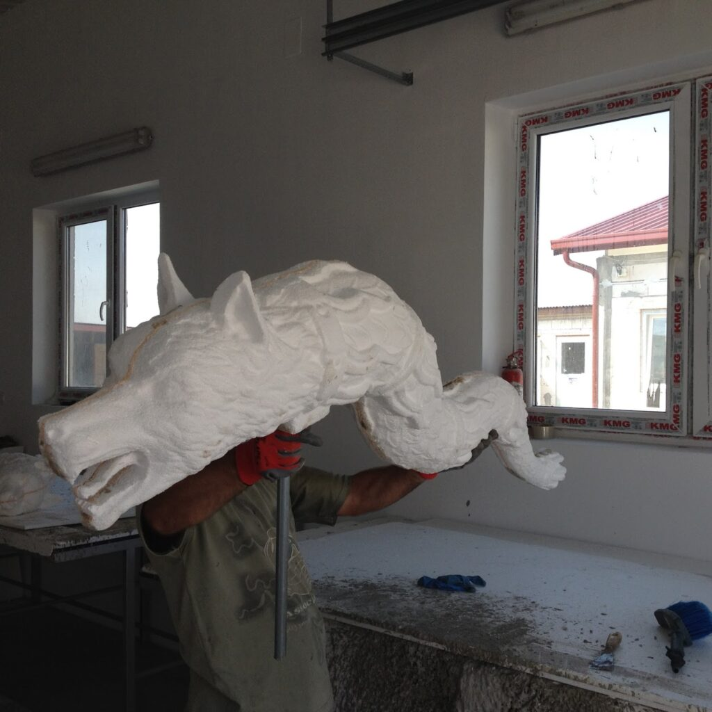 Steagul Dacic in Fabrica de Profile CoArtCo