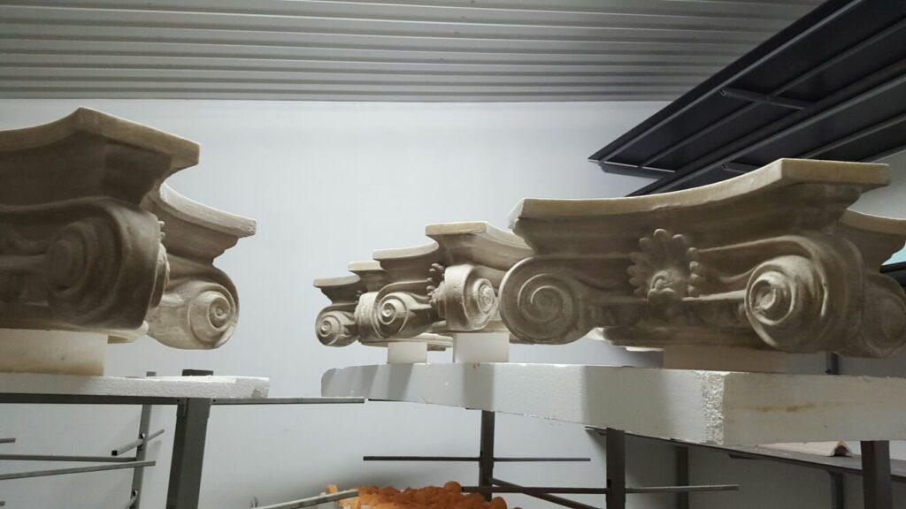 Capiteli din Polistiren CoArtCo in Fabrica de Profile Decorative CoArtCo