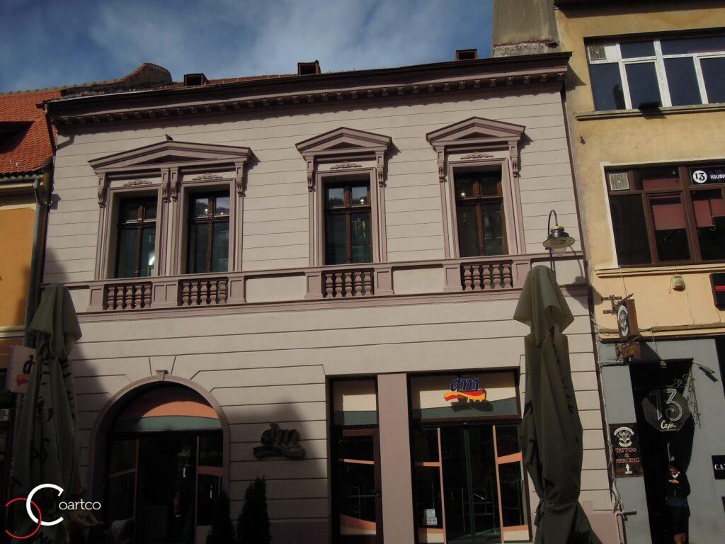 Ancadrament Fereastra pe Fatada Casei in Brasov
