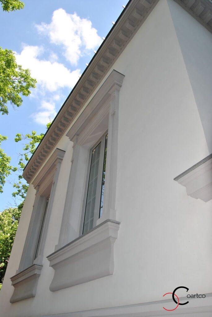 Ancadramente Decorative din Polistiren cu Cornisa Decorativa CoArtCo Casa Dana Rogoz