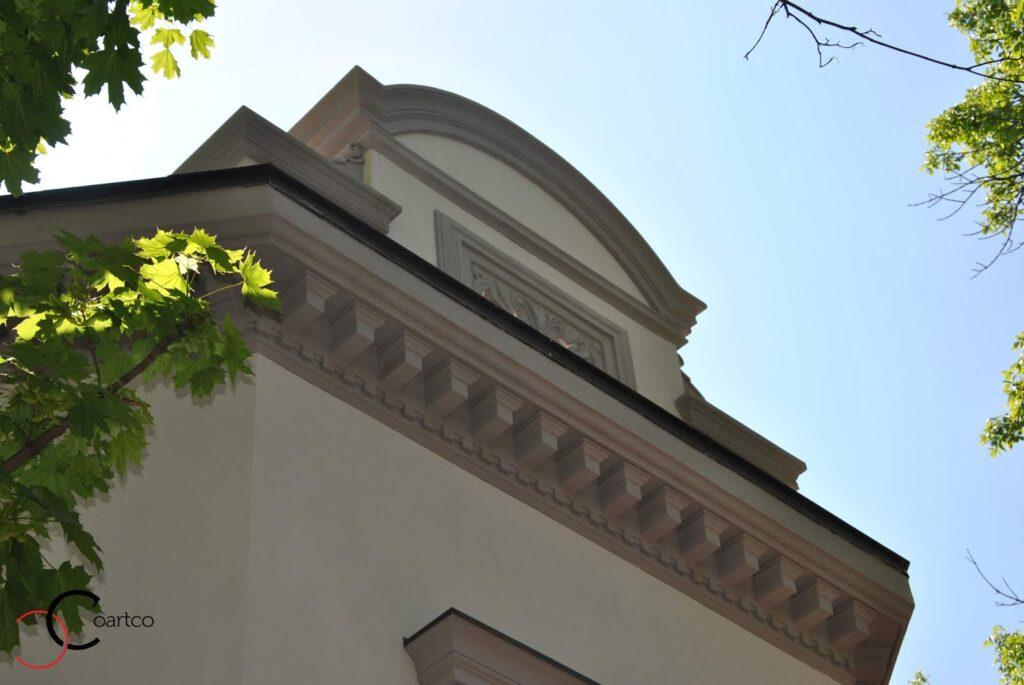 Cornisa decorativa din polistiren coartco casa dana rogoz