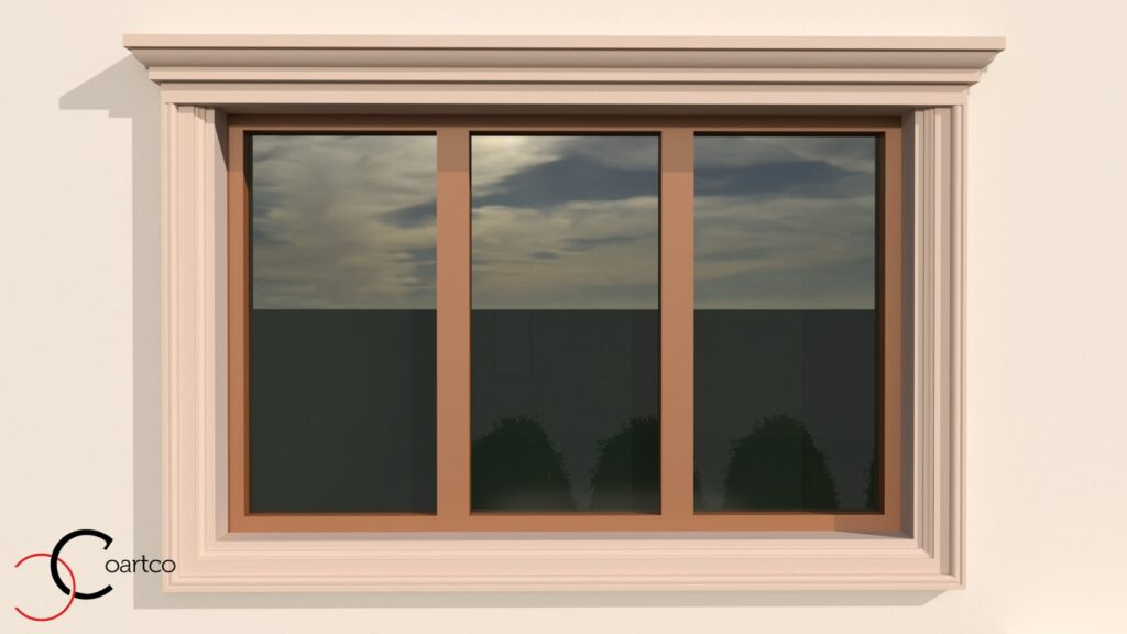 Serviciu Suplimentar de Simulare Design Fatada Casa cu Profile Decorative din Polistiren CoArtCo