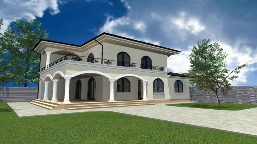 Proiect Fatada Casa cu Profile din Polistiren CoArtCo