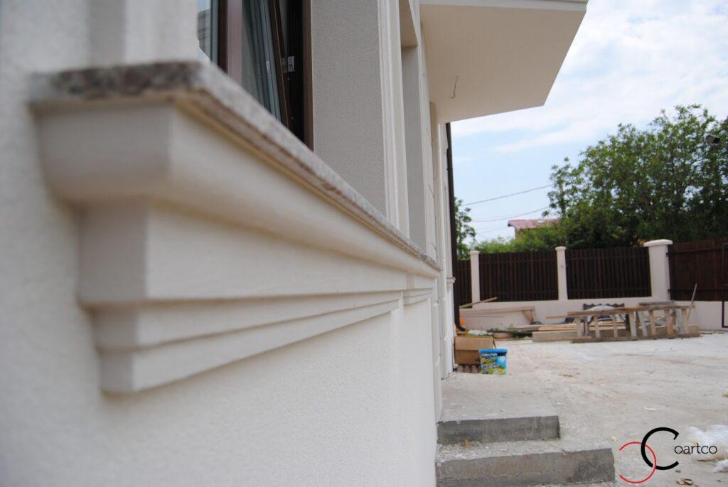 Solbanc din Polistiren pentru Fereastra Profile Decorative din Polistiren CoArtCo