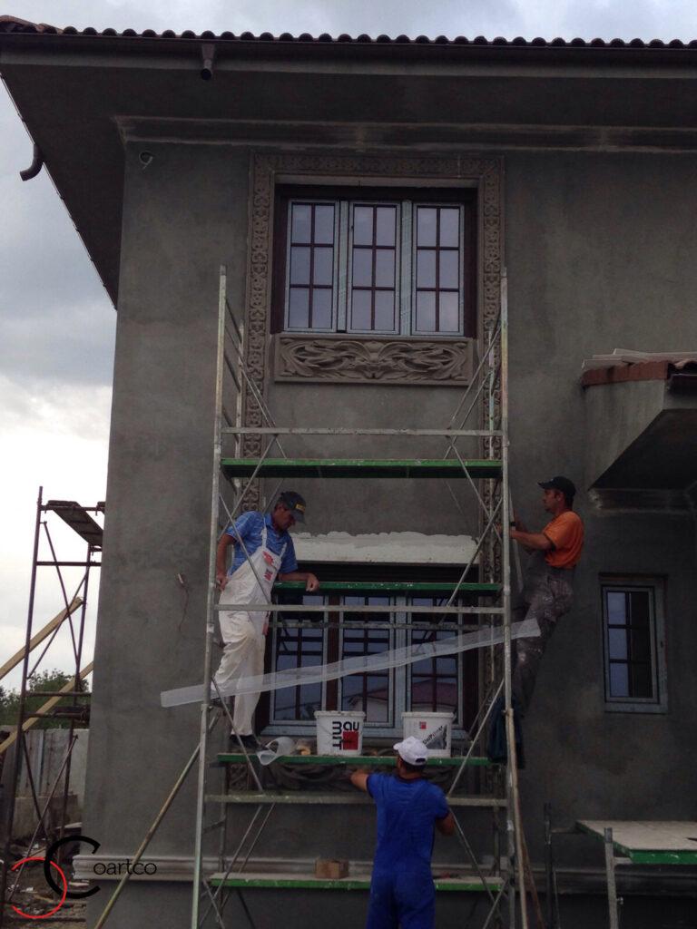 Manopera Montaj Profile Decorative din Polistiren CoArtCo Ancadramente Geamuri
