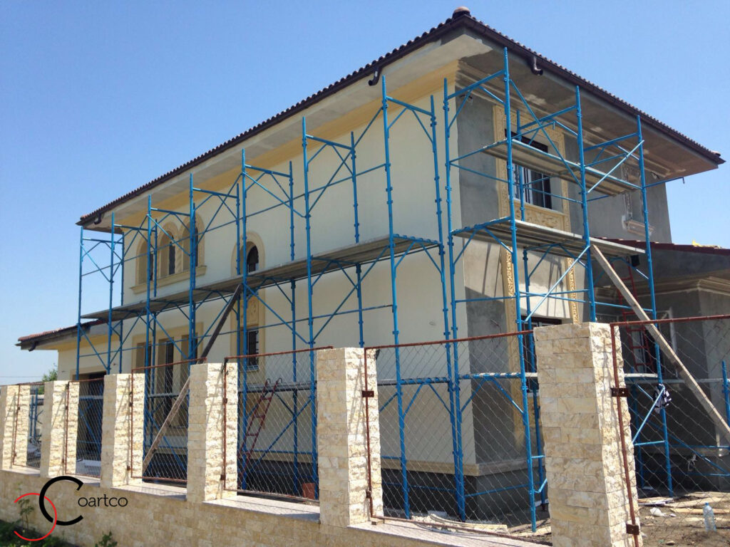 Manopera Montare Profile Decorative din Polistiren CoArtCo pe Fatada Casei
