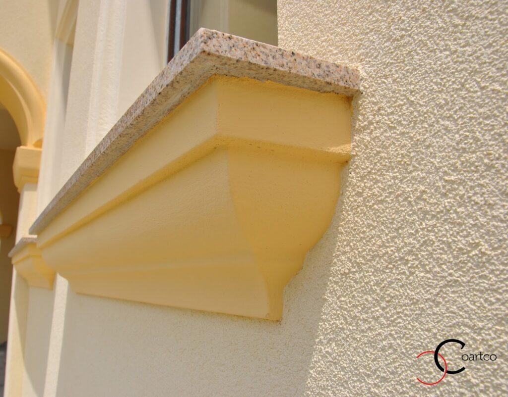 Solbanc   pentru Fereastra Profile Decorative din Polistiren CoArtCo