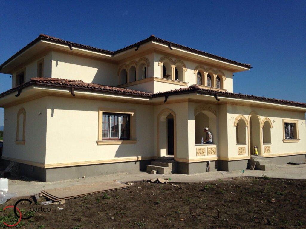 Profile Decorative CoArtCo Montate pe Fatada Casei