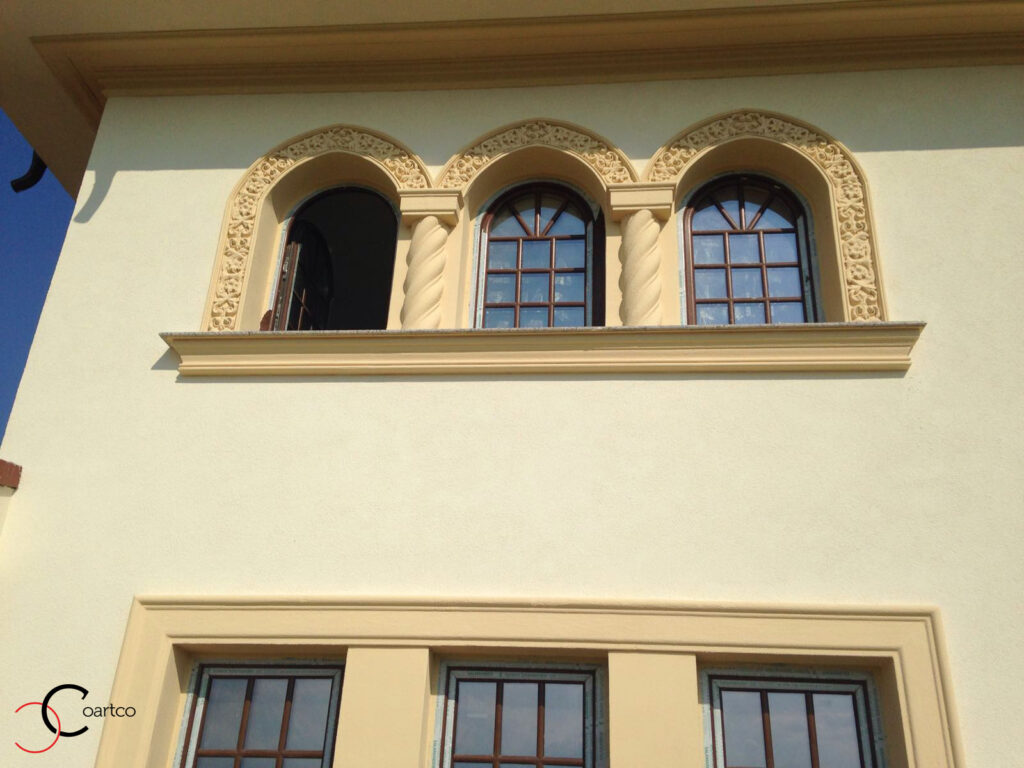 Fatada Casa cu Profile Decorative din Polistiren CoArtCo