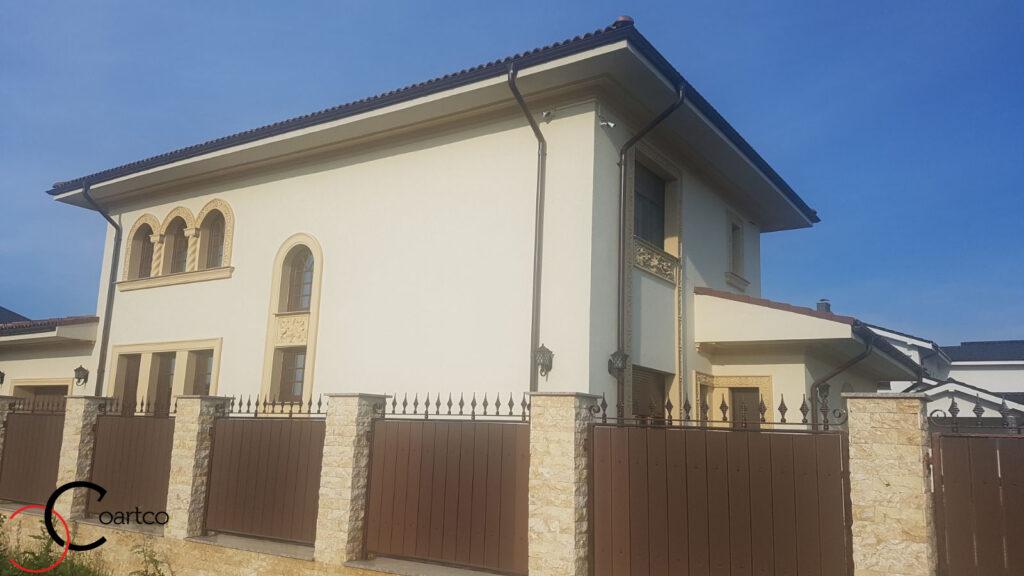Profile din polistiren CoArtCo pentru amenajare fatada casa