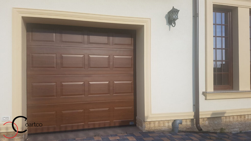 Ancadrament decorativ din polistiren CoArtCo pentru usa garaj