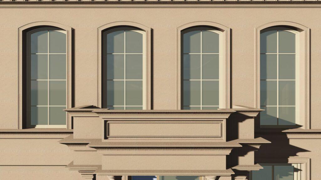 Proiect Design Fatada Casa cu Profile din Polistiren CoArtCo