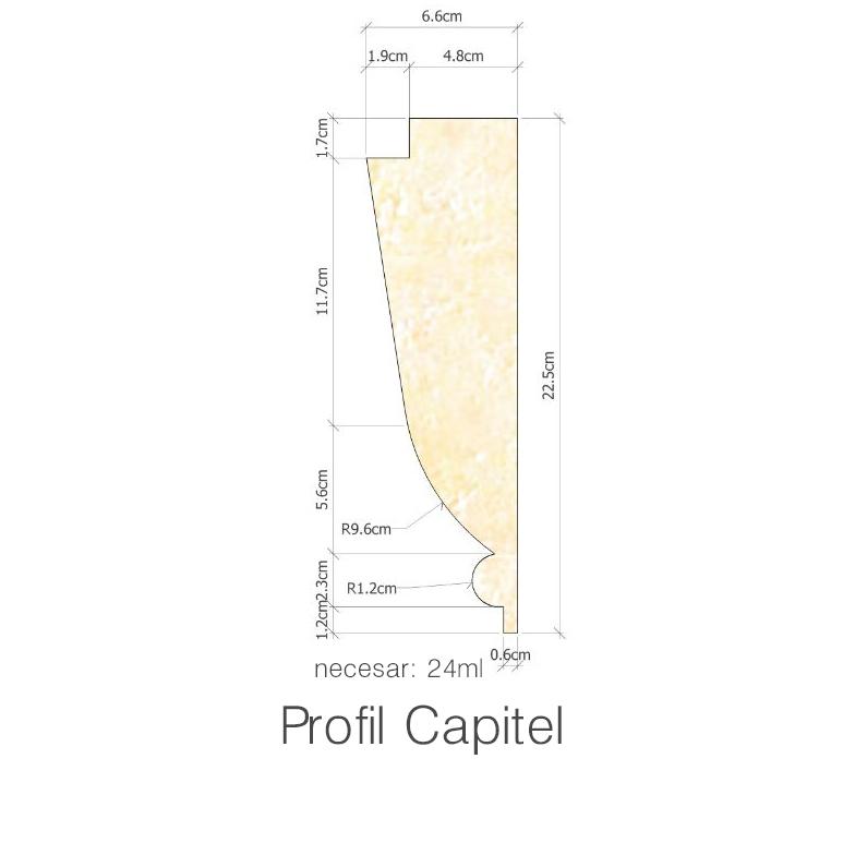 Profil Capitel necesar 24ml