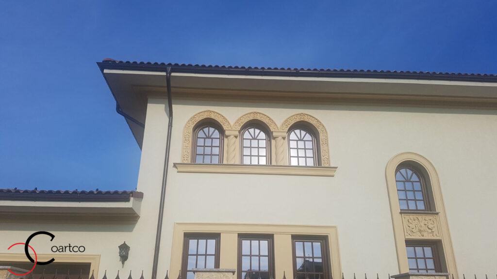 Ancadramente geamuri cu arcada din polistiren CoArtCo