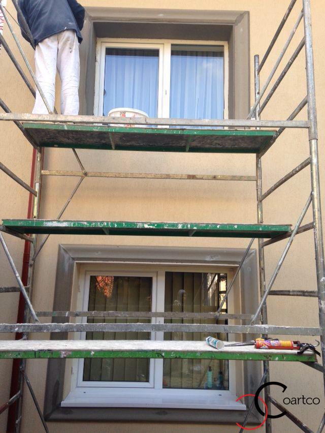Manopera Fatada Casa Montaj Profile Decorative din Polistiren